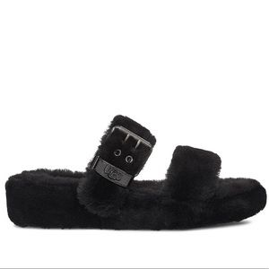 ⭐️NEW⭐️ UGG Fuzz Yeah Shearling Slide Sandals